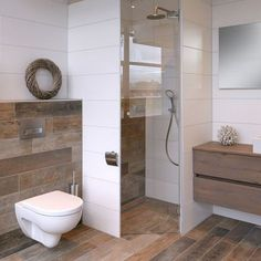 Below is a tiny shower room layout that said that realistically meets an easy, m., Below is a tiny shower room layout that said that realistically meets an easy, minimalist, modern and also extravagant interior design. Modern Bathroom Decor, Bathroom Interior Design, Small Bathroom, Bathroom Ideas, Shower Ideas, Bathroom Sinks, Basement Bathroom, Interior Modern, Bad Inspiration