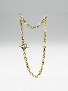 Jay Strongwater Toggle Necklace