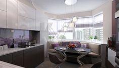 дизайн кухни в 3-комнатной квартире П-44Т - 2