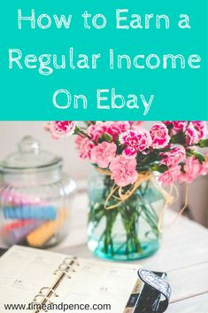 Make money on ebay. Lots of ideas of things to sell to make a regular income!
