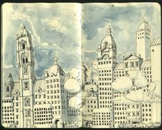 Brilliant Examples of Moleskine Art
