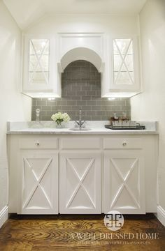 Fort Worth Living Room After · Wet Bar CabinetsBuilt ...