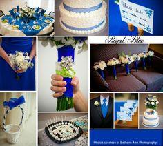 Royal Blue Wedding
