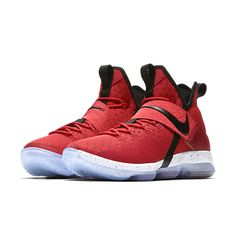 a2df8e3c88b Nike LeBron 14 Red Brick Road Men Basketball Shoes Lebron 14 Shoes