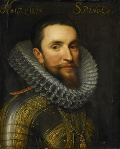 Ambrogio, Marquess de Spinola, ca. 1605 (Michiel Jansz. Van Miereveld) (1567-1641) Rijksmuseum Amsterdam, SK-A-554