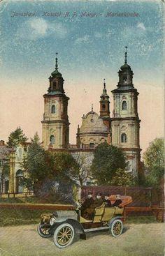 Archiwalna fotografia bazyliki oo. Dominikanów w Jarosławiu  #dominikanie #Jarosław #op #klasztor #old #kościół