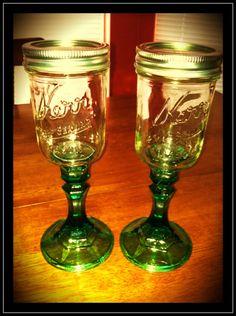 redneck wine glasses :))
