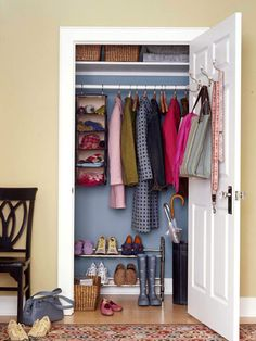 Small and Mighty - great place to keep gloves, scarfs, etc. like the hooks on door for bags