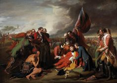 Art in Space: Benjamin West: The Death of General Wolfe (1770)