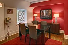 14 red dining room ideas red room