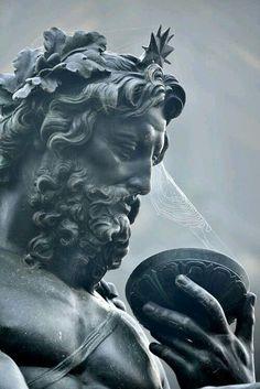 art Cool God Awesome thinking figure statue zeus poseidon Gods work of art neptune renaissance greek god Aesthetic Statue, Aesthetic Art, Aesthetic Grunge, Aesthetic Vintage, Greek Statues, Buddha Statues, Angel Statues, Ancient Greek Sculpture, Stone Statues