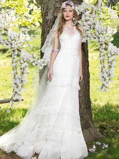 My Top 10 Boho Style Wedding Dresses | Style & The Bride