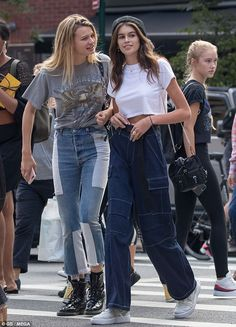 Kaia Gerber Takes an All-American Style Staple to the ...