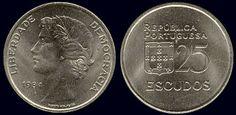 25 Escudos - 1980