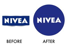 Ten top logo changes in 2013, the year of the flat #logo  8. Nivea