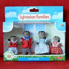 Calico Critters Sylvanian Families OTTER FAMILY Flair #SylvanianFamilies