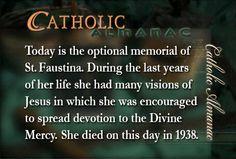 #SaintFaustina #prayforus #DivineMercy