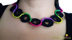 Water Bottle Plastic Rings Necklace Free Tutorial