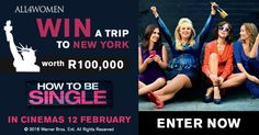 Sign up to the All4woman newsletter and get a chance to win a trip to New York (worth R 100'000) #ad
