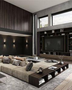 Modern Interior Design, Luxury Interior, Interior Architecture, Home Decor Bedroom, Living Room Decor, Dream Home Design, Luxury Living, Living Room Designs, Luxury Homes