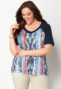 American fireworks tee by Lane Bryant | Sonsi | Directive ...