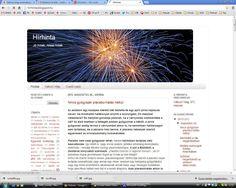 Hírhinta Jó hírek, rossz hírek http://hirhinta.blogspot.hu/