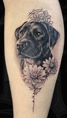 Are you thinking about getting a dog tattoo? we have collected over 100 amazing dog tattoos by the best tattoo artists to inspire your. Sweet Tattoos, Love Tattoos, Beautiful Tattoos, Tatuajes Animal Print, Animal Tattoos, Tattoos Skull, Body Art Tattoos, Small Dog Tattoos, Tattoos Of Dogs