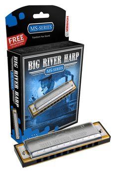 Hohner Big River Harmonica G#
