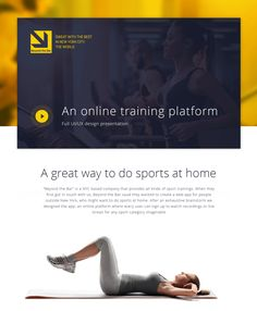 Beyond the Bar - Online web App on Behance Online Web, Sports Training, First Contact, Presentation Design, Web Design, App, Behance, Signage, Digital