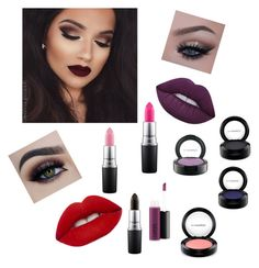 """""""Untitled #15"""" by eua-anagnwstou on Polyvore featuring beauty, Lime Crime and MAC Cosmetics"""