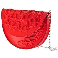 MeDusa Round Bag - Red #handbag #red #fashion