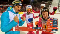 Polish skijumpers once again achieved 3rd place in team competition at World Championships in Falun!! Then once again congratulations guys!