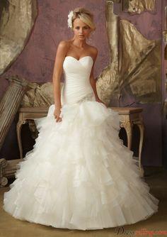 Romantic Organza Dresses Sweet Heart 2013 New Style Bridal Wedding Dresses By Dressselling.com