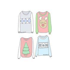 Imagem de overlay, sweater, and christmas