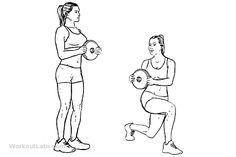 Lunge Twists   WorkoutLabs