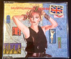 Madonna - Borderline (Cd single - Yellow series) FRONT #Madonna