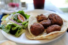 Falafel by Mr. Falafel, schwarma, baklava and more! Falafels, Shawarma, Ras El Hanout, National Dish, Jewish Recipes, Middle Eastern Recipes, Garlic Sauce, Recipe Details, Matcha