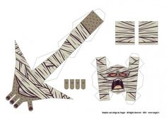 Blog_Paper_Toy_papertoy_Mummy_Tougui_template_preview