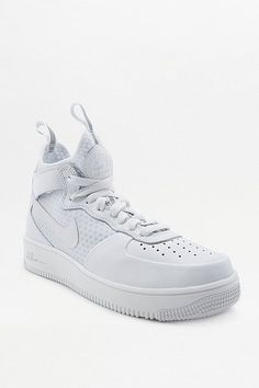 "nice Nike - High Tops ""Air Force 1"" in Weiß - Damen 38.5 http://portal-deluxe.com/produkt/nike-high-tops-air-force-1-in-weiss-damen-38-5/  115.00"