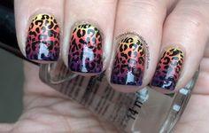 Neon Leopard Prints
