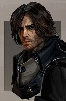 m Ranger/Rogue portrait Dishonored : les personnages Fantasy Male, Fantasy Rpg, Medieval Fantasy, Fantasy Portraits, Character Portraits, Fantasy Inspiration, Character Inspiration, Fantasy Character Design, Character Art