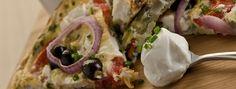 Griechisches Salat Frittata Frittata, Greek Salad, Fresh Rolls, Mexican, Yummy Food, Chicken, Meat, Ethnic Recipes, Yogurt