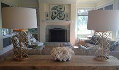 Skidaway Island House Living Room