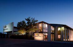 Moderne Architektur - das Gebäude von hl-studios GmbH – Agentur für Industriekommunikation
