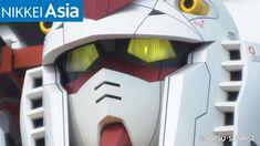An 18-meter Gundam robot is really walking in Yokohama, Japan. - YouTube Yokohama, Gundam, Iron Man, Robot, Walking, Japan, Statue, Superhero, Youtube