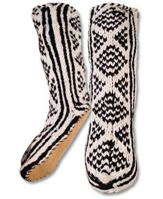 Mukluk Slippers- I so have a pair of these from 1996! Remember the store called KC Brown? Love them