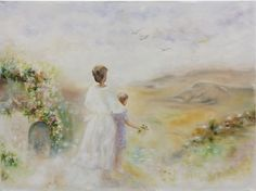 FINEARTSEEN - White valley inspired by Willem Haenraets by Mila Moroko. A beautiful original oil painting. Available on FineArtSeen - The Home Of Original Art. Enjoy Free Delivery with every order. << Pin For Later >>