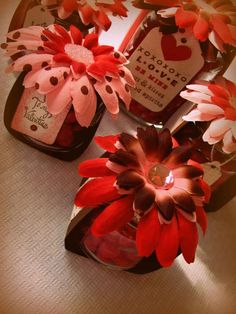 Baby Food Jars Valentines