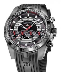 Eberhard & Co. | Chrono 4 Géant Full Injection Titanium