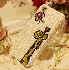 lovely pearl deer iphone 4/4s/5 case